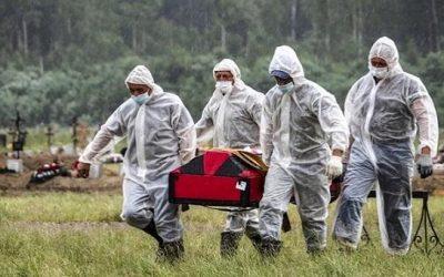 করোনায় একদিনে আরও ১২ হাজার মানুষের মৃত্যু